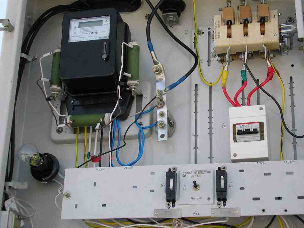 Монтаж системы электроснабжения